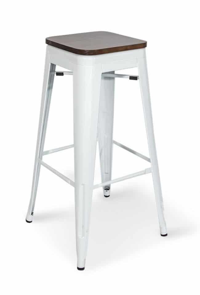 wollongong party hire tolix stool timber top. Black Bedroom Furniture Sets. Home Design Ideas