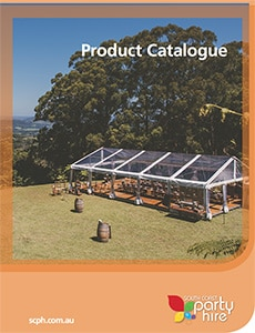 South Coast Party Hire Product Catalogue 2016