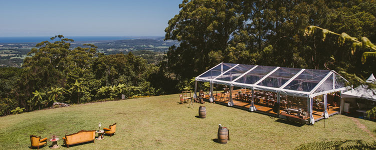 Jess and Toby's Wedding with South Coast Party Hire