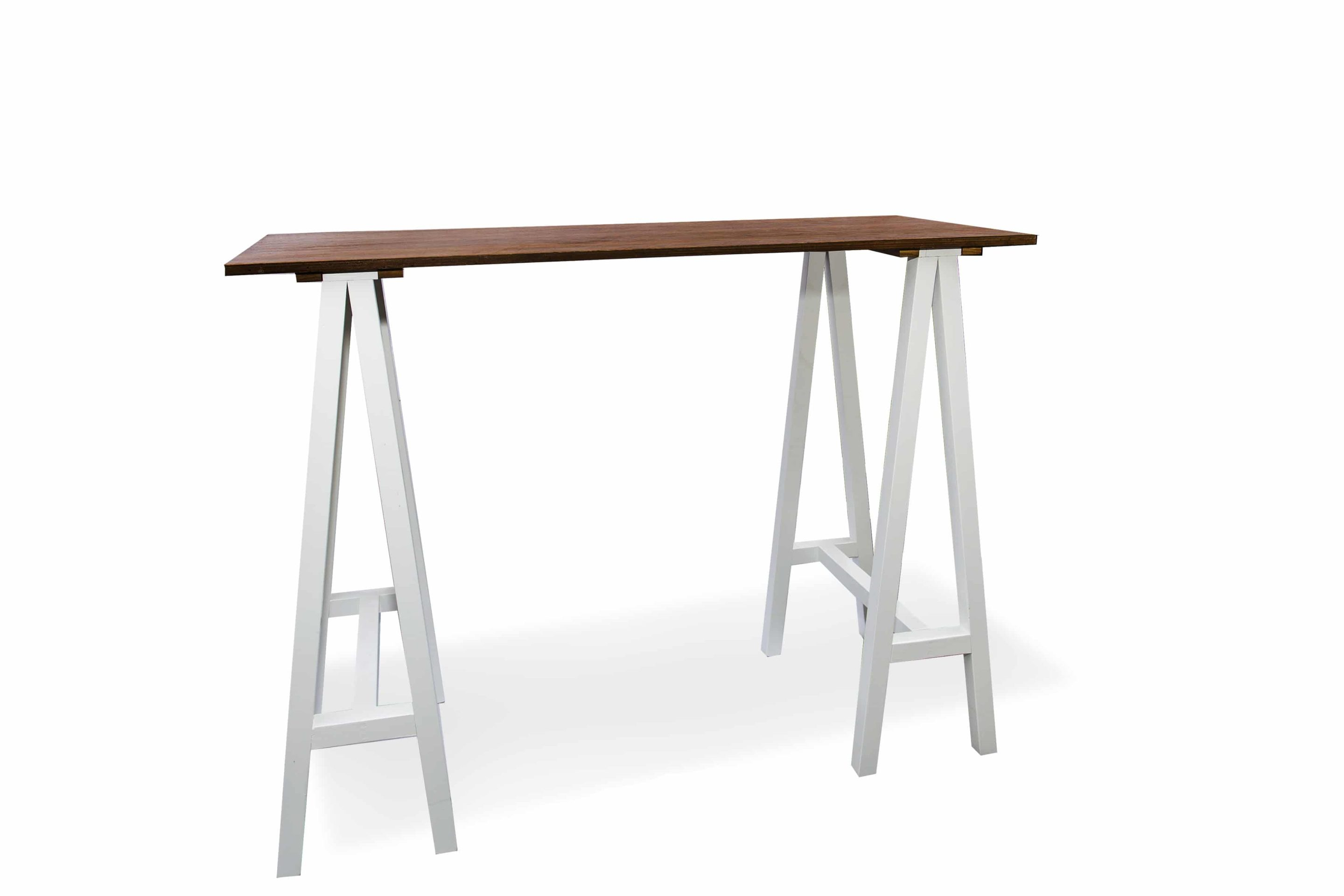 Wollongong Party Hire Carpenter Bar Table White Legs