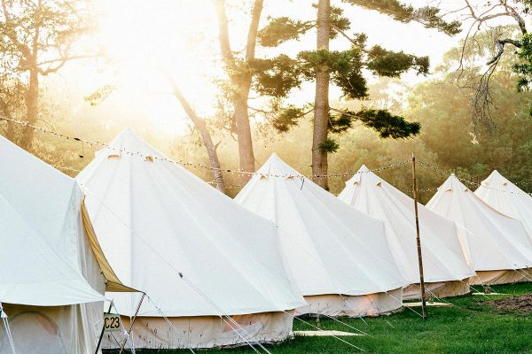 Glamping Tent Hire for Events | South Coast Party hire