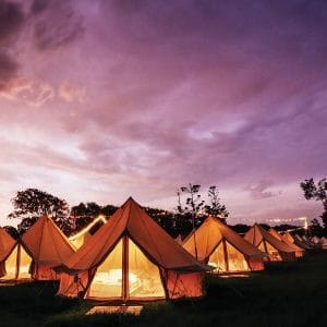 Glamping Tent Hire Wollongong | South Coast Party Hire
